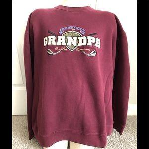 Golf Pro Grandpa sweat shirt One Par Everytime!